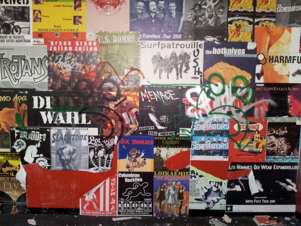 Plakate aus den 80ern
