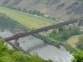 Brücke Eller, rechts geht es in den Kaiser Wilhelm Tunnel